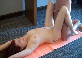Redhead mom looks incredibly sexy and fuckable