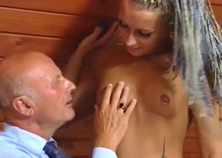 Small-tit sister and her perverted uncle
