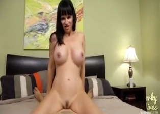 Nasty anal action with my big-breasted sister slut